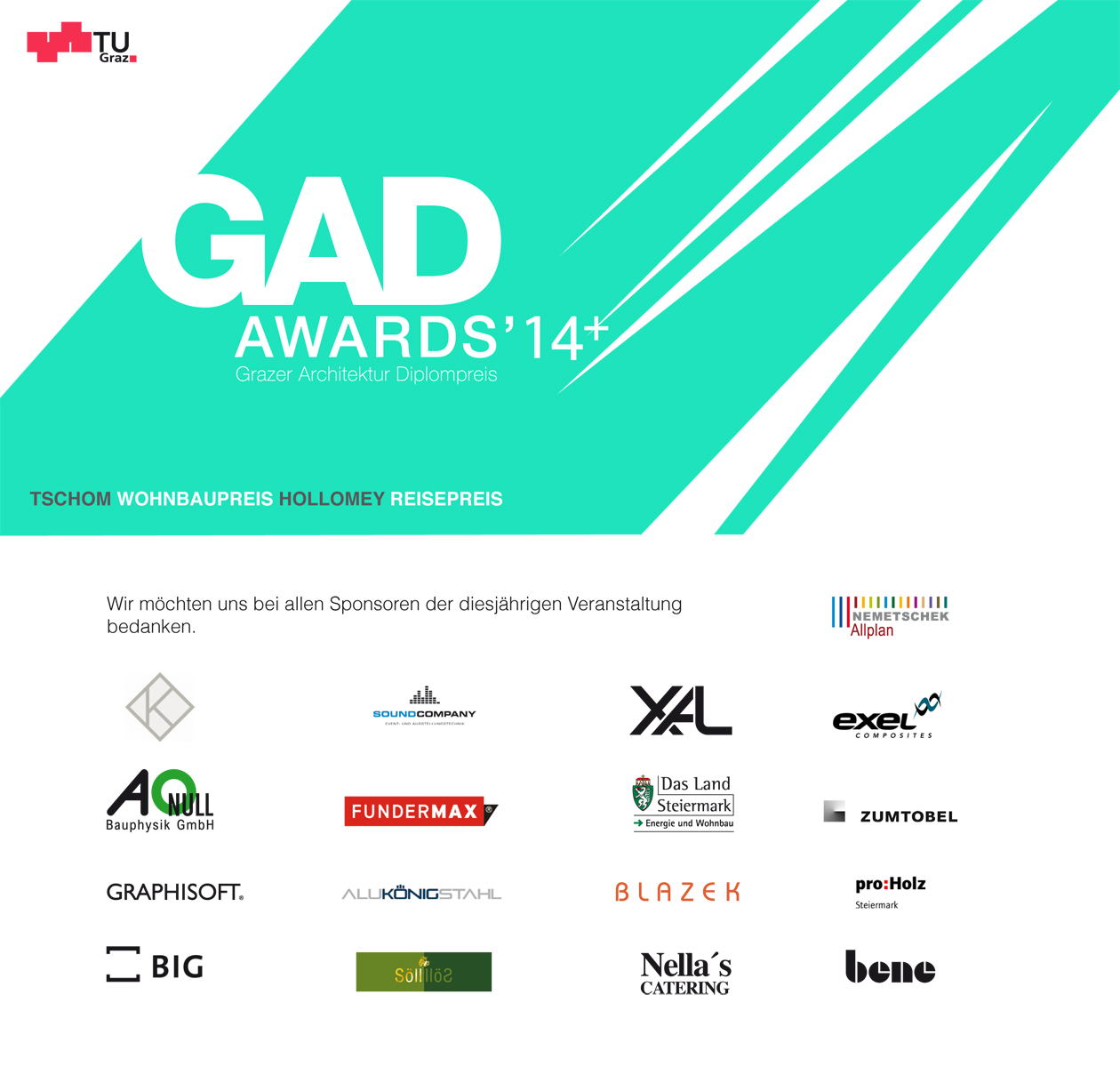 gad awards 2014 oliver schörgi erhält den tschom wohnbaupreis