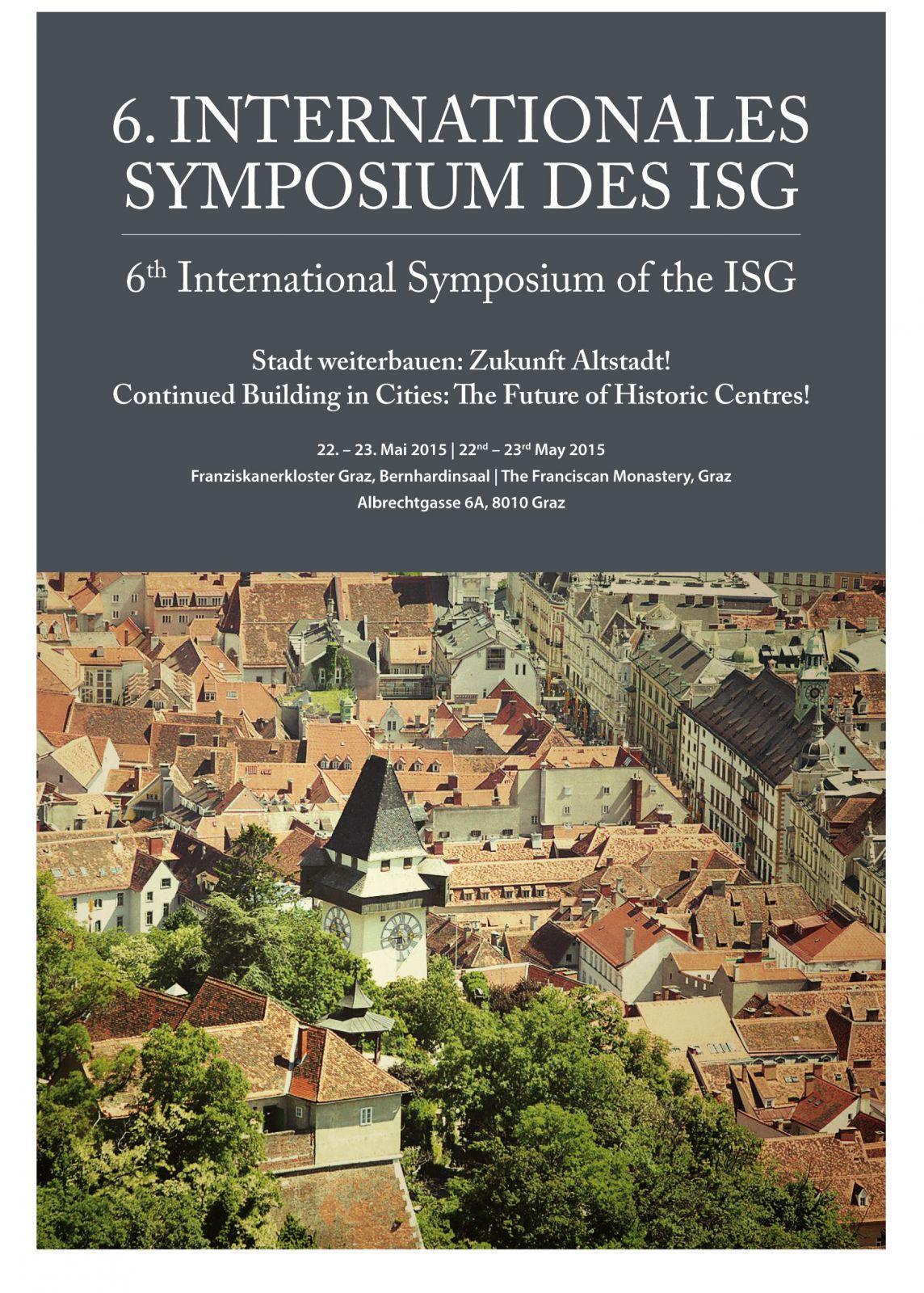 isg-symposium stadt weiterbauen: zukunft altstadt